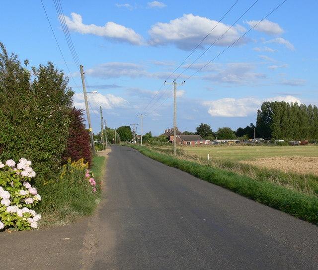 Gedney Drove End: Dawsmere Road