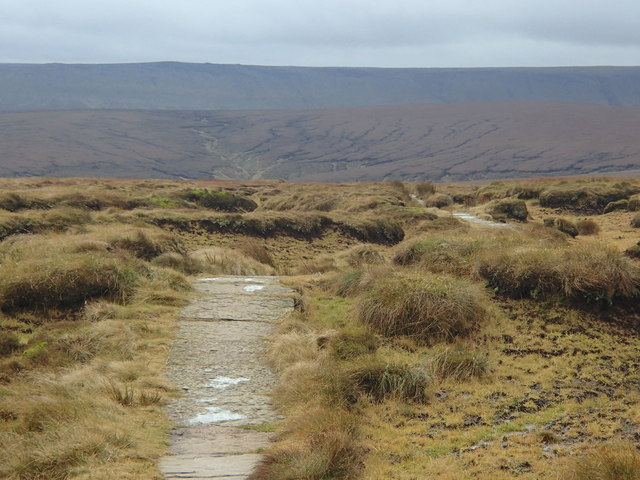 Pennine Way, view south