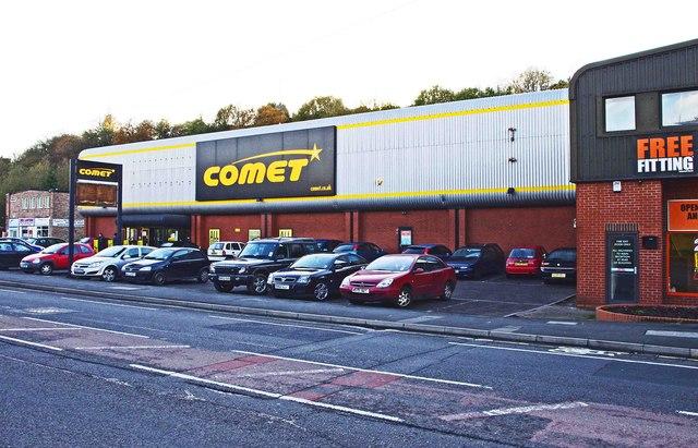 Comet, 91-107 Dudley Road, Halesowen