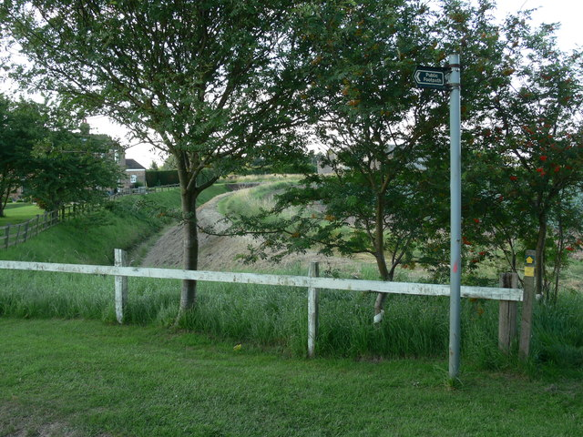Drainage ditch at Oldershaws Farm