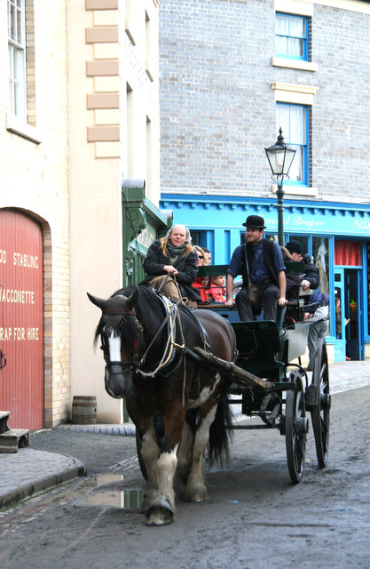 Blists Hill Victorian Town - one-horsepower vehicle