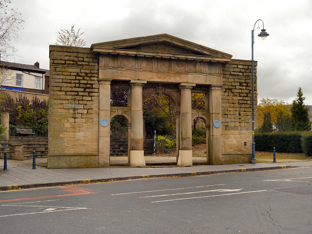 Stalybridge Town Hall Portico