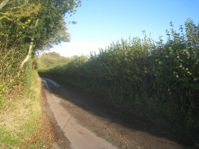 Heading south on Ibworth Lane