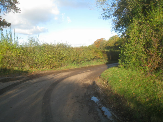 Start of Hook Lane