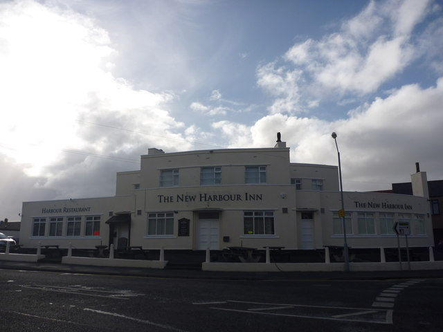 Northumberland Townscape : The New Harbour Inn, Seahouses