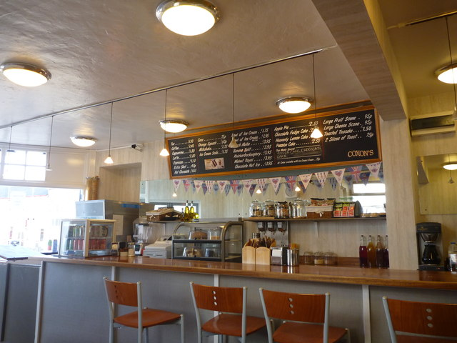 Northumberland Interiors : Coxon's Cafe, Seahouses