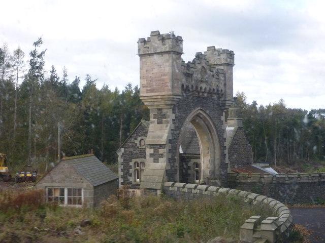 Northumberland Architecture : Middleton Lodge, near Belford