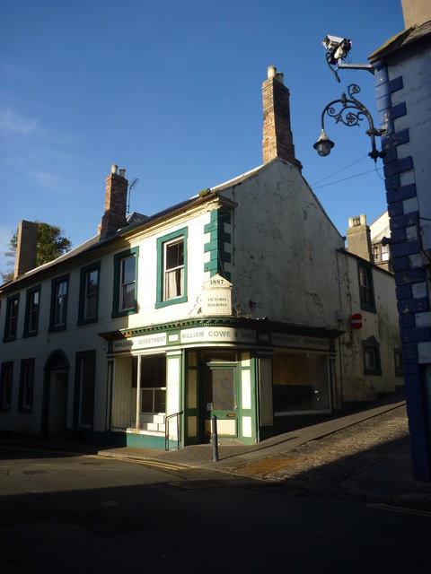 Berwick Townscape : Victoria Buildings, Bridge Street