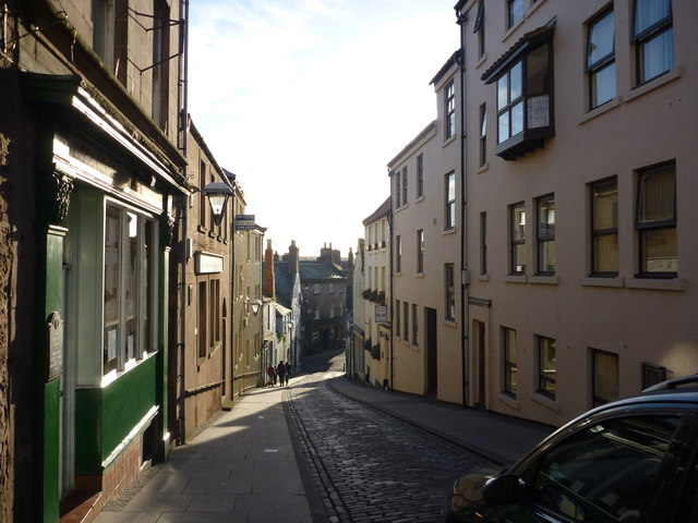 Berwick-Upon-Tweed Townscape : West Street