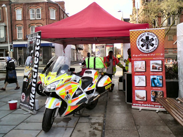 Northwest Blood Bikes Manchester