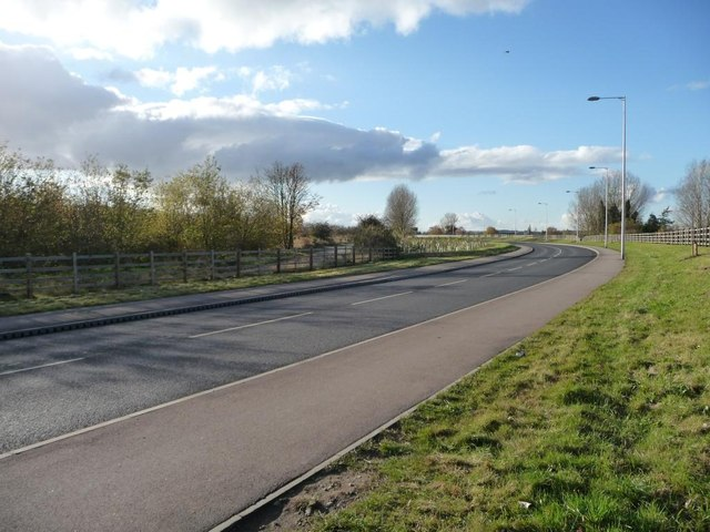 Cudworth Parkway and the former Weetshaw Lane