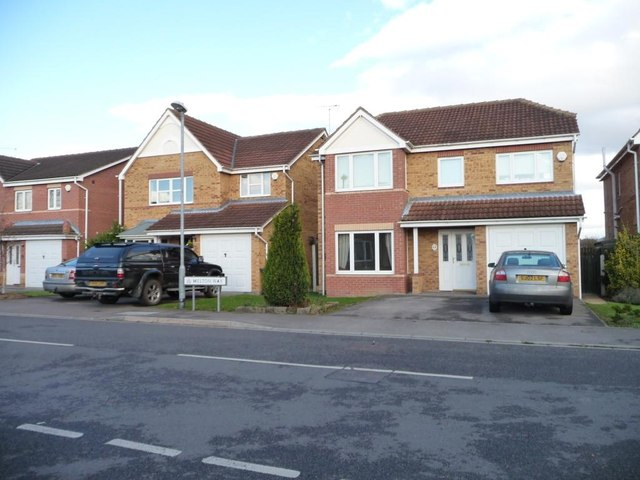 Houses in Melton Way, Royston