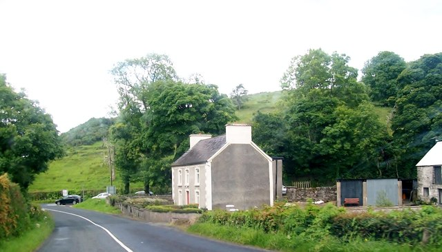 Farmhouse at the junction of the L2195 and R232 (Pettigo) road