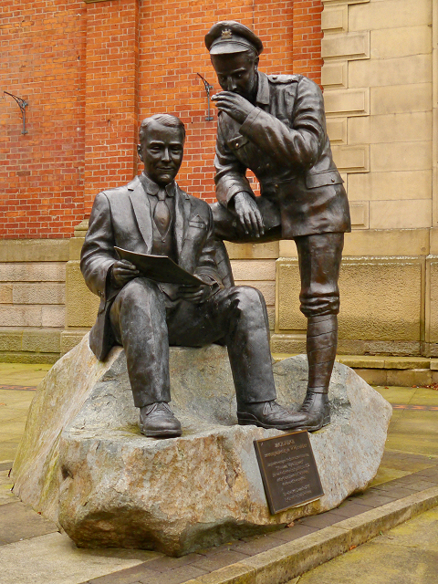 Jack Judge Statue