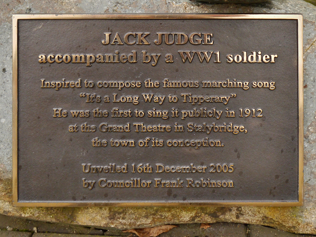 Jack Judge (plaque)