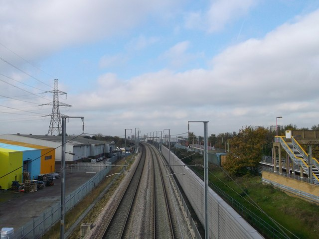 High Speed 1 towards Dagenham
