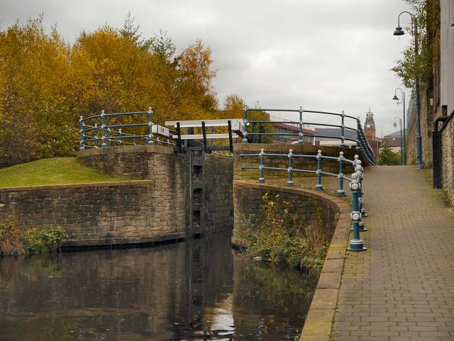 Lock 5W, Huddersfield Narrow Canal, Stalybridge