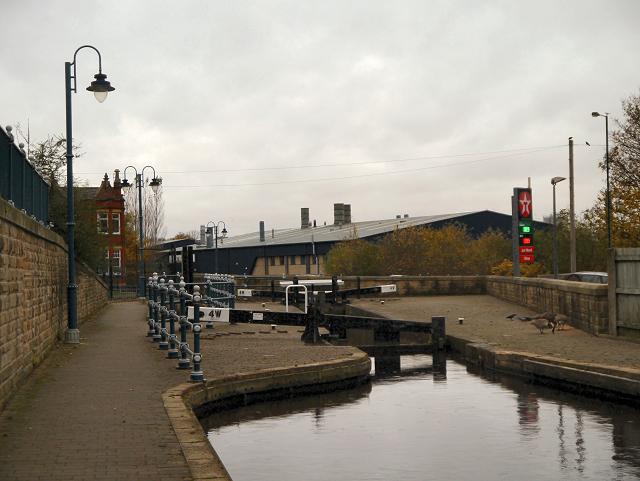 Lock 4W, Huddersfield Narrow Canal
