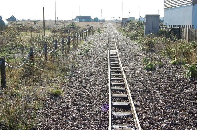 Romney, Hythe & Dymchurch Railway track