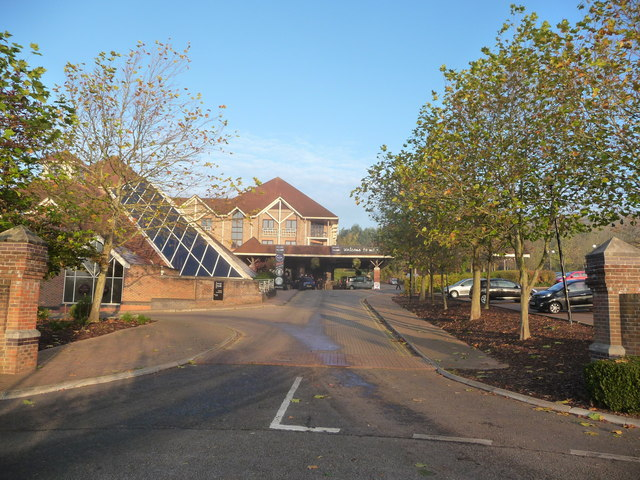 Part of the De Vere village hotel complex, Swindon