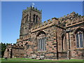 SJ6677 : St Mary &amp; All Saints church, Great Budworth by Dave Kelly
