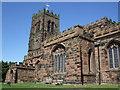 SJ6677 : St Mary & All Saints church, Great Budworth by Dave Kelly