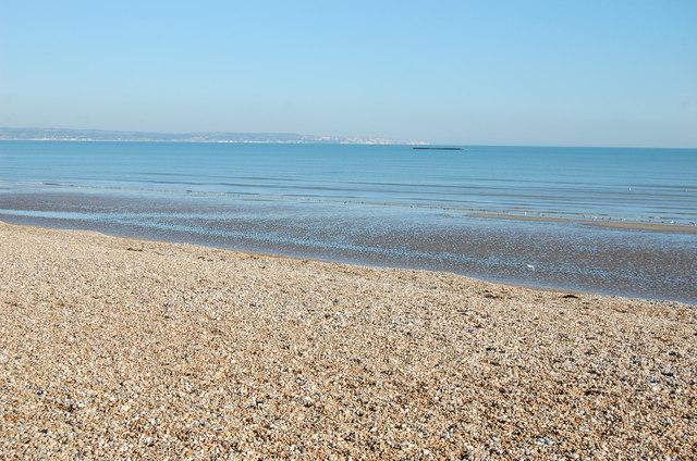 Low tide on Romney Sands