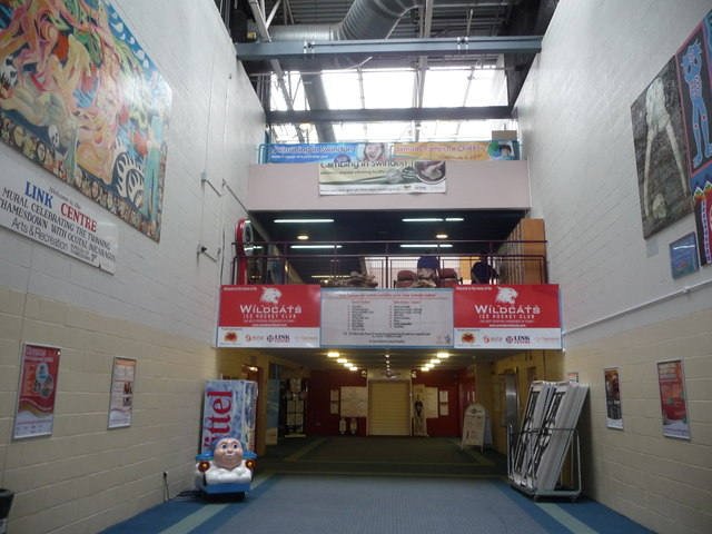Inside the Link Centre, Swindon