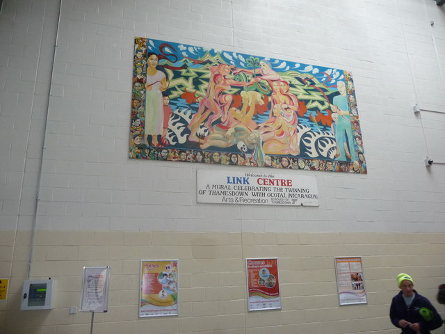 Mural in the Link Centre, Swindon