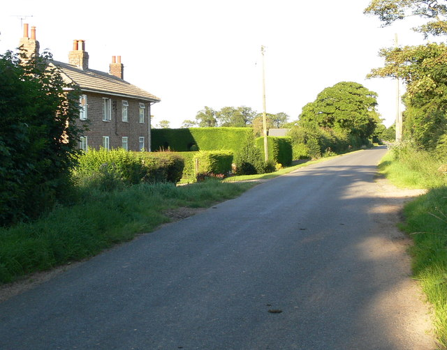 Cottages along Durham's Road