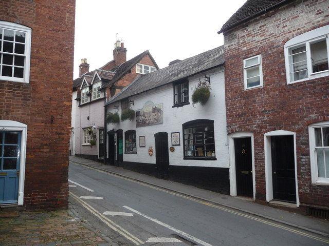 The Little Packhorse pub, Bewdley