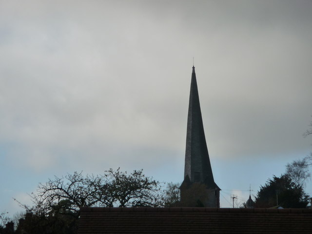 The crooked spire, Cleobury Mortimer