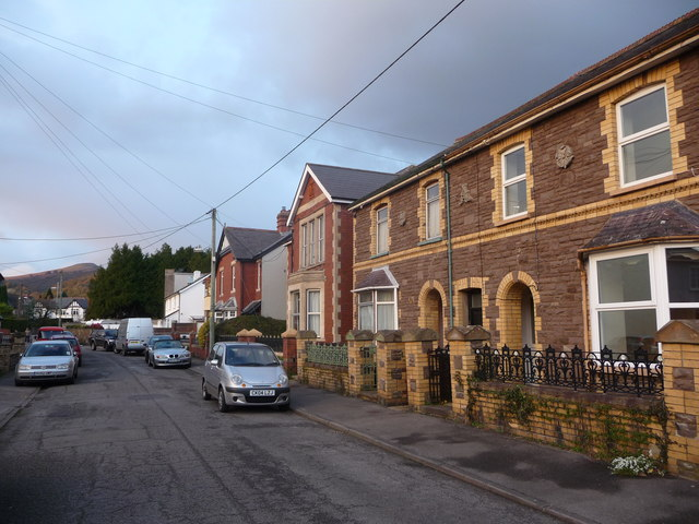 Part of Hatherleigh Road, Abergavenny