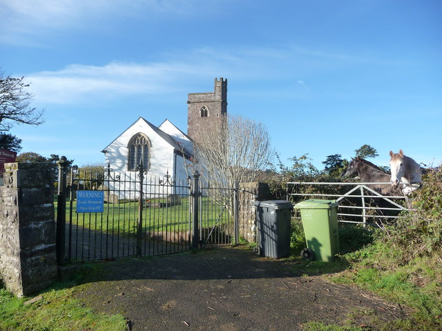 St. Peter's church, Henllys, Cwmbran