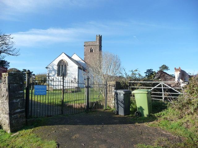 St. Peter's church, Henllys, Cwmbran