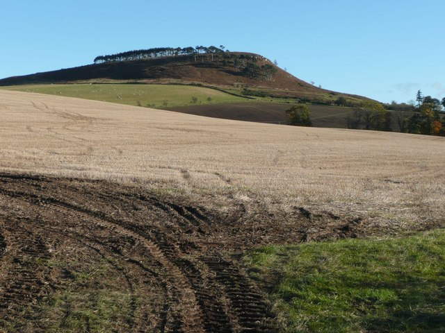 Stubble field near Old Bewick