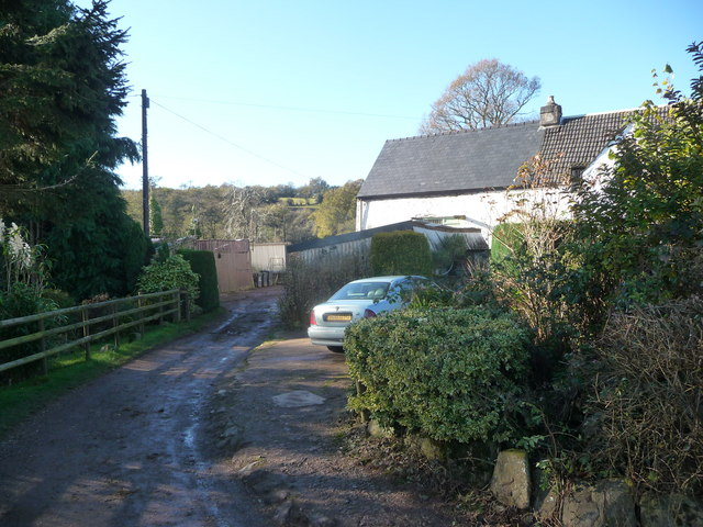Part of Pandy Mawr farm