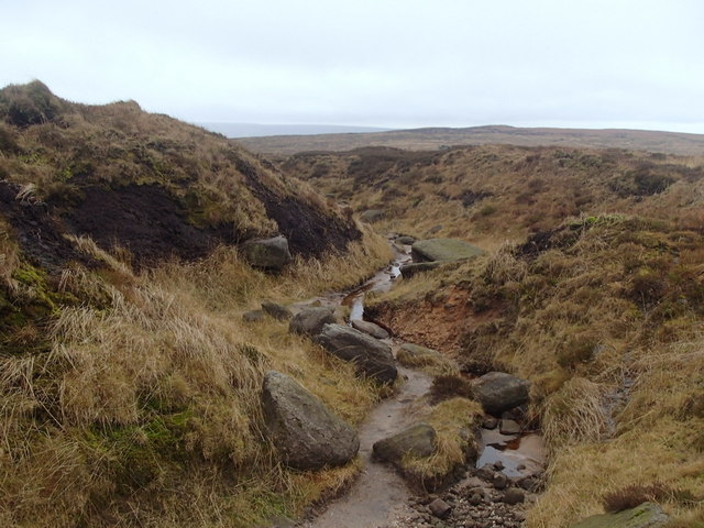 Pennine Way following Hern Clough