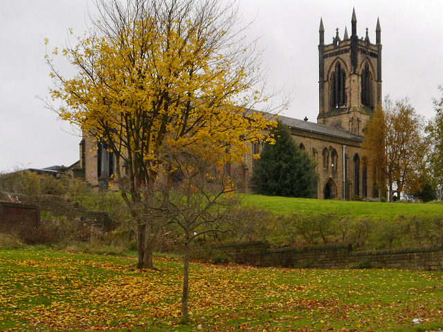The Church of St John the Evangelist, Dukinfield