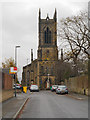 SJ9597 : Dukinfield, The Church of St John the Evangelist by David Dixon