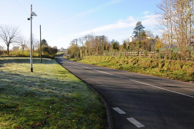 Road to Usk at Raglan