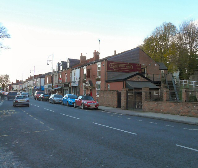 Stockport Road, Romiley