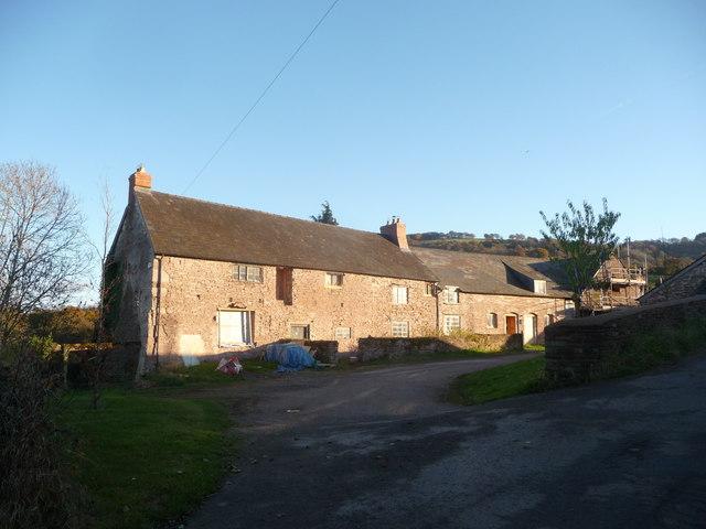 Tresenny farm near Grosmont, Monmouthshire