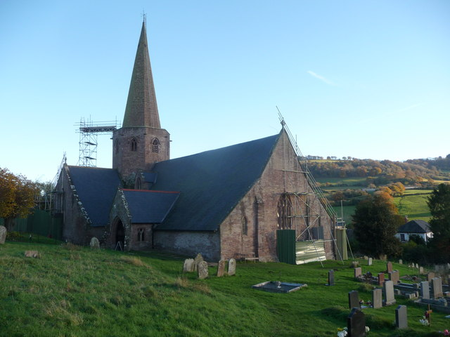 St. Nicholas' church, Grosmont, Monmouthshire