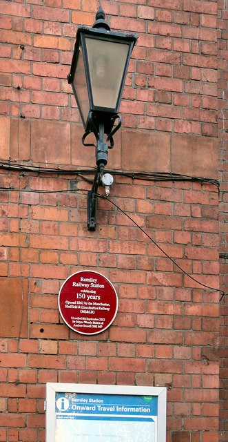 Romiley Station 150 years