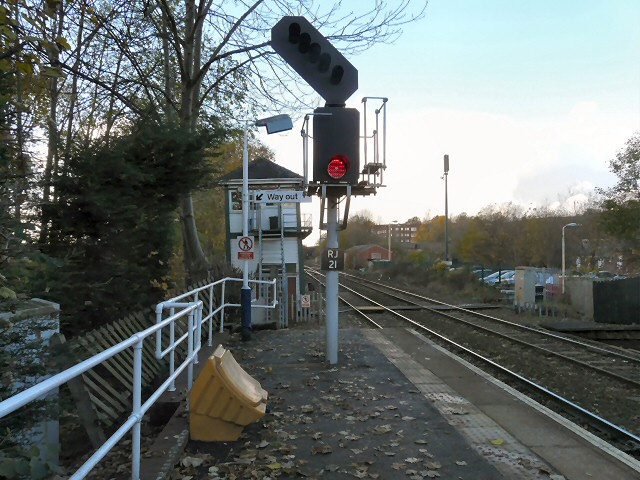 Romiley Junction Signal Box
