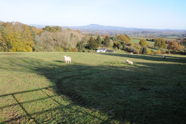 View north from Clytha Hill