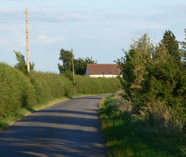 Chapel Cottage along Gedney Drove End