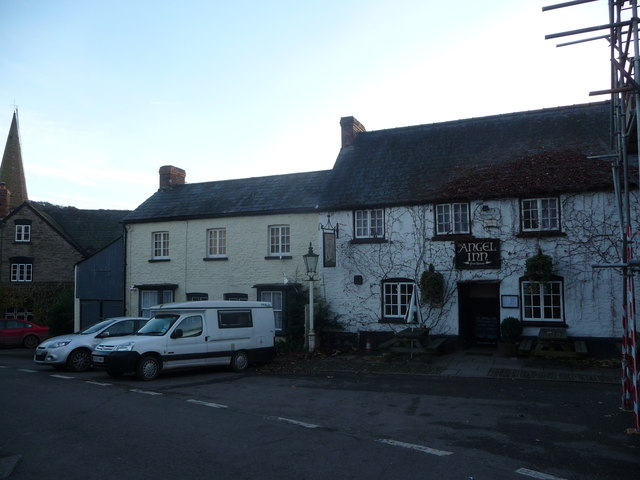The Angel Inn, Grosmont, Monmouthshire