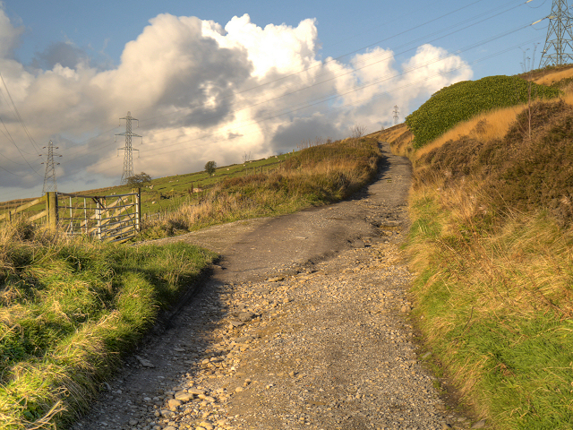 Path towards Shaw Moor